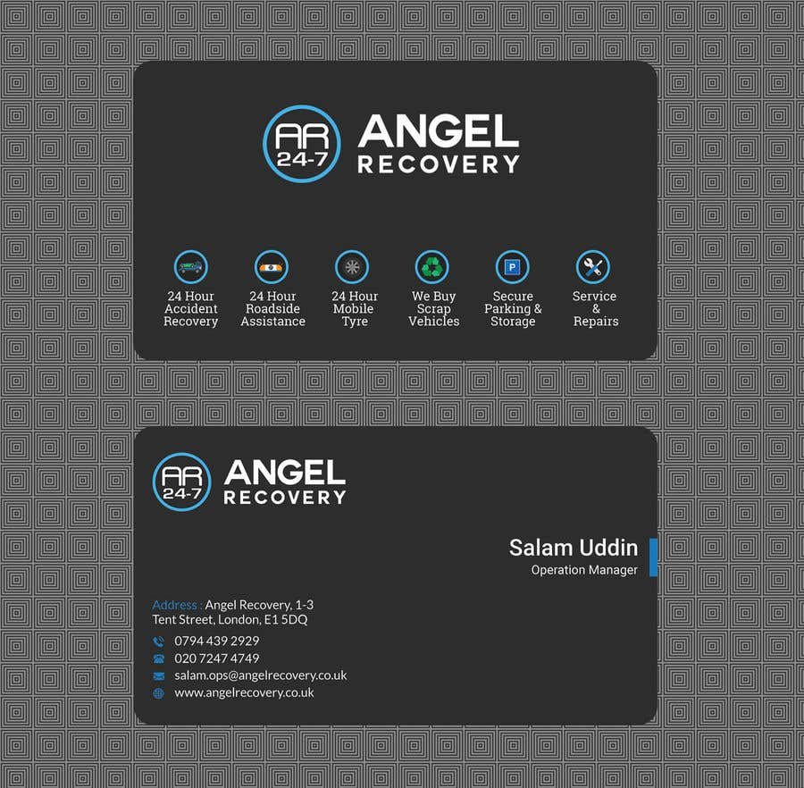 Entry 70 By Tanveermh For Personalized Business Cards Freelancer