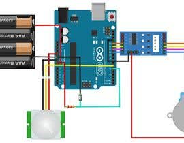 #2 untuk Creating a rat trap with pir motion sensor and stepper motor on arduino uno oleh yousufhusain434