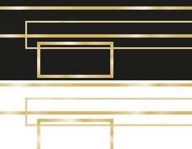 #4 for Design UI Golden borders in Illustrator (vector) af andreolwage