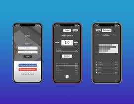 #2 untuk Design an App Mockup for Expense Tracker App oleh creativedumpling