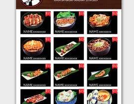#27 para Create a food flyer de piashm3085