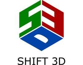 #8 for SHIFT 3D logo by herfandig