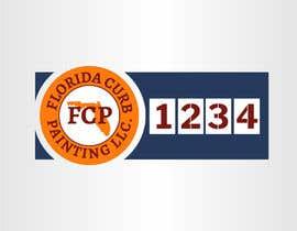 #78 untuk Design a logo for Florida Curb Painting oleh nouragaber