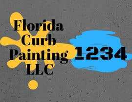 #90 for Design a logo for Florida Curb Painting by shahieranur1