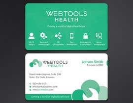 #840 untuk Business Card Design - Webtools Health oleh Neamotullah
