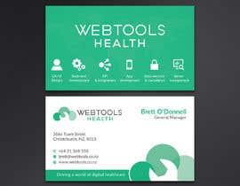 #843 untuk Business Card Design - Webtools Health oleh Neamotullah