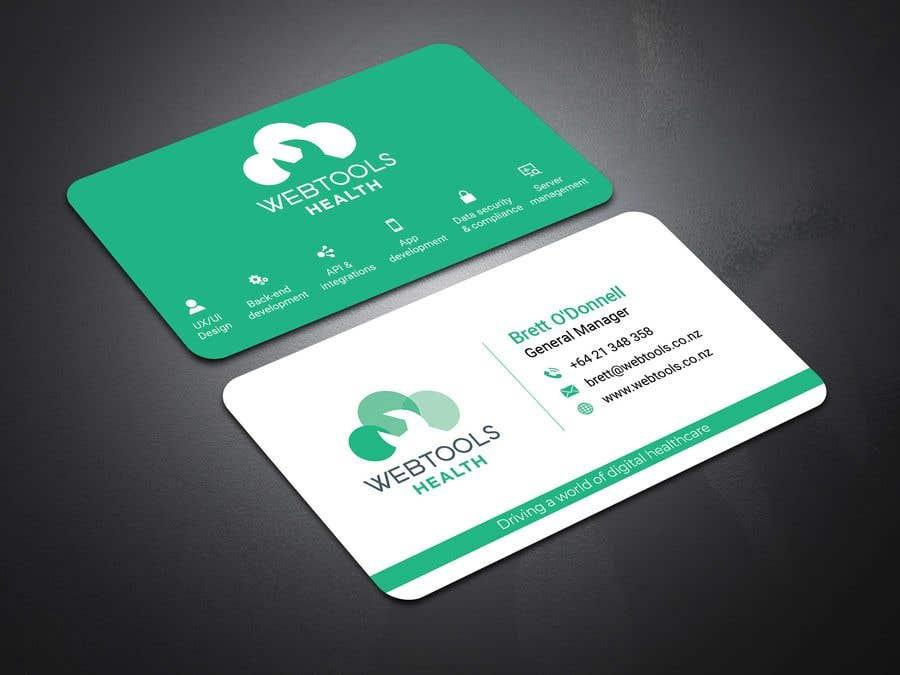 Contest Entry #975 for Business Card Design - Webtools Health