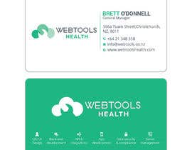 #1035 for Business Card Design - Webtools Health by Darda222