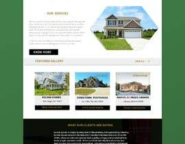 #62 for Design my Real Estate Homepage by EmmanuelThomas1