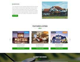 #54 for Design my Real Estate Homepage by ZephyrStudio