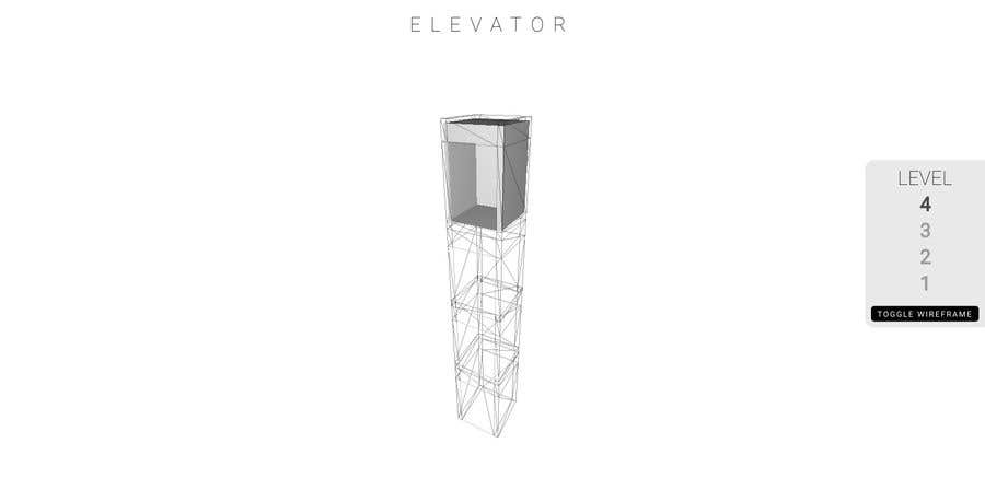 Entry #4 by kayecandy for Simple wireframe elevator mock-up