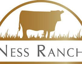 #2 for A logo for ranch with cattle brand a simple logo but eye catching (Ness Ranch) af gwddesigns