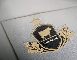 #11 for A logo for ranch with cattle brand a simple logo but eye catching (Ness Ranch) af amrmero1010