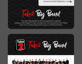 #19 для Design a business card for a Big Band від Joyrel