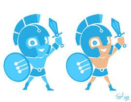 #38 for Design a digital gladiator (Warrior) character by argonzalez