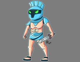 #39 for Design a digital gladiator (Warrior) character by serenaabraham