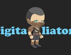 #32 for Design a digital gladiator (Warrior) character by hebamadboly