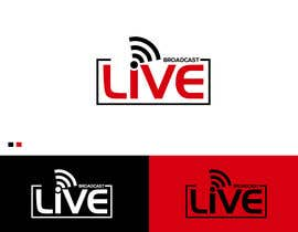 "#86 untuk Logo for Live Streaming Business - ""Broadcast Live"" oleh logodesignner"