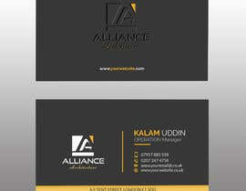 #170 for business card for architect by shimulh