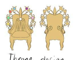 #11 para Design Concept art of  a Throne for a game por joanncyn23