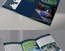nº 33 pour Make a brochure for my cyber security company par JewelBluedot