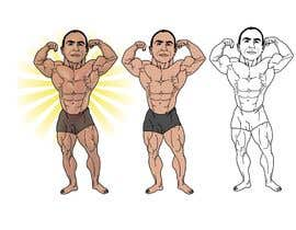 #19 for Cartoonist Job for Funny Bodybuilder Drawings (CONTEST for selection) by berragzakariae