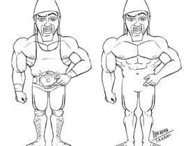 nº 38 pour Cartoonist Job for Funny Bodybuilder Drawings (CONTEST for selection) par abrahmatan