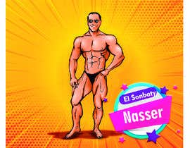 #18 Cartoonist Job for Funny Bodybuilder Drawings (CONTEST for selection) részére EfraimVF által