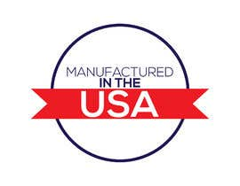"#10 for Logo ""Manufactured in the USA"" by alemran14"