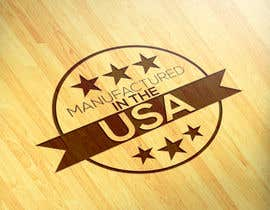 "#11 for Logo ""Manufactured in the USA"" by alemran14"