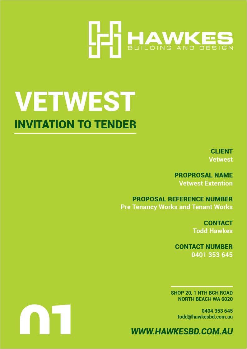 Kilpailutyö #20 kilpailussa Tender Proposal / Brochure