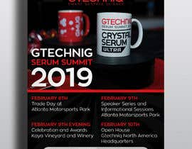 #35 for Design Gtechniq Serum Summit 2019 poster by rahimakhatun752