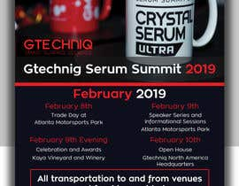 #99 for Design Gtechniq Serum Summit 2019 poster by shsanto