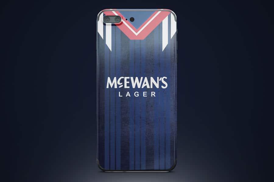 innovative design e17ab 335bb Entry #23 by Omerzia58 for Retro Football Kit Phone Case Design ...