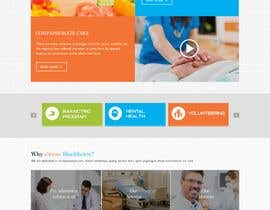 #15 for Create a Clean Homepage User Interface for Health Wesbsite by webidea12