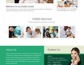#10 for Create a Clean Homepage User Interface for Health Wesbsite by clearboth78