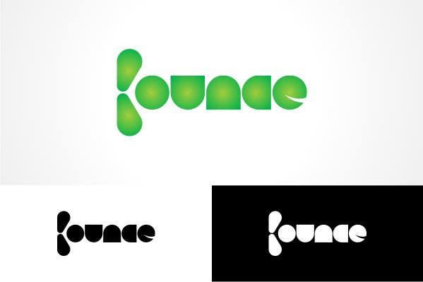 Penyertaan Peraduan #                                        396                                      untuk                                         Logo Design for Bounce