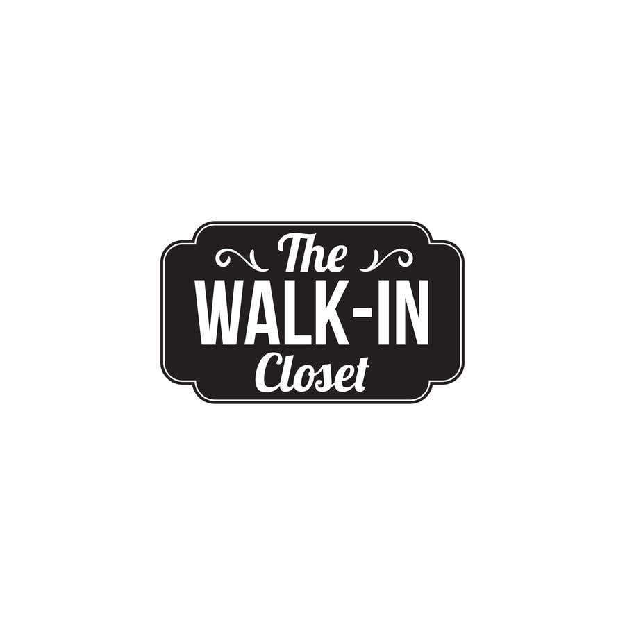 """Конкурсная заявка №65 для Logo for a vintage, resale shop called, """"The Walk-in Closet."""""""