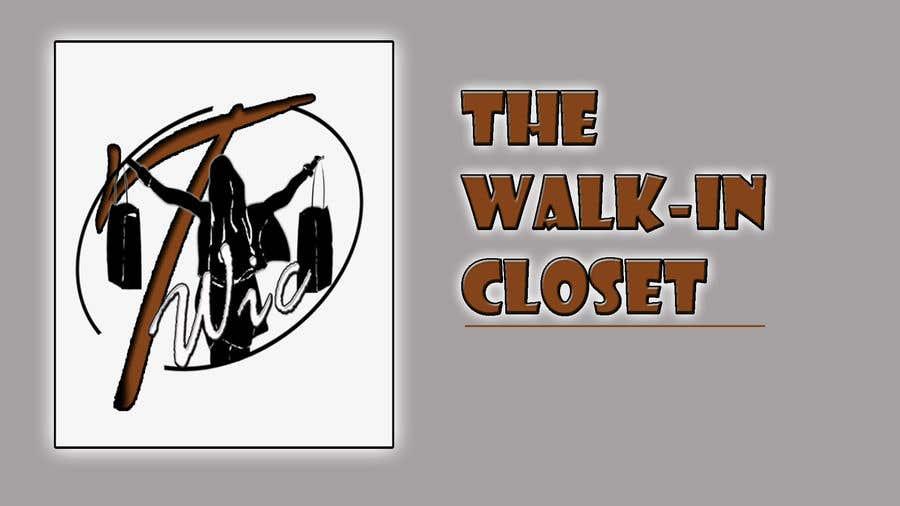 """Конкурсная заявка №16 для Logo for a vintage, resale shop called, """"The Walk-in Closet."""""""