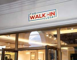 "#112 для Logo for a vintage, resale shop called, ""The Walk-in Closet."" от Muzahed03"