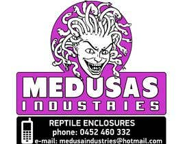 #9 for Recreate logo as vector - Medusa Industries by xetus