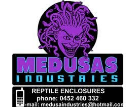 #10 for Recreate logo as vector - Medusa Industries af xetus