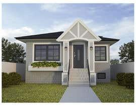 #23 pentru House Exterior Design / drawing - create a nicer entrance de către hedardipo