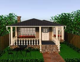 #3 pentru House Exterior Design / drawing - create a nicer entrance de către DohaElamin