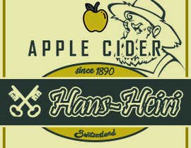 #24 for Create a label for a new apple cider beverage af Ragnoraks