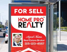 #96 for DESIGN A FOR SALE SIGN FOR A REAL ESTATE COMPANY by AR1069