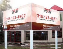 #98 for DESIGN A FOR SALE SIGN FOR A REAL ESTATE COMPANY by Shagston