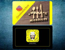 #42 for Business Cards for Jooda's Kitchen by davutgonen