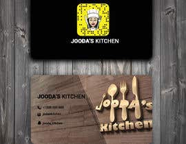#44 for Business Cards for Jooda's Kitchen by smf25