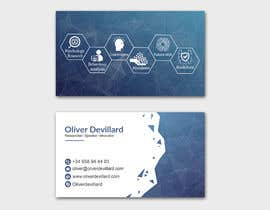 #217 for Design a business card with a technology and connection theme by patitbiswas
